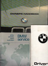 1982 BMW 5 SERIES Owners Handbook, Audio System & Dealer List 528i 525i 520i 518