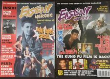 EASTERN HEROES magazine HONG KONG CINEMA 2 SPECIAL EDITION ISSUES 3 & 5