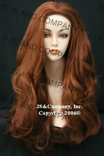Luscious Layered extra long fox red WIG WAAH G130