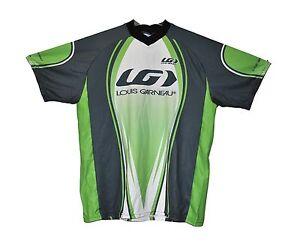 new Genuine Louis Garneau downhill cycling jersey short sleeve made in Canada
