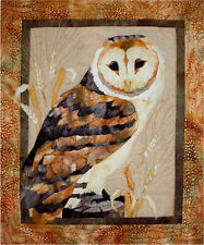 Mellow Meadow Owl Toni Whitney Bird Fusible Applique Quilt Pattern