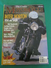 THE CLASSIC MOTORCYCLE - INTER NORTON - APRIL 1998