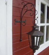 Lanterna con console muro antico nostalgico stile country Metallo a vento NUOVO