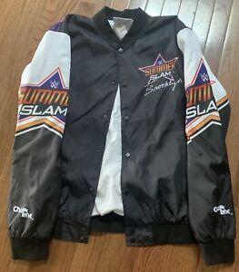 WWE WWF Chalk Line Summer-slam Jacket XL Wrestling NEW Rare Retro NWO