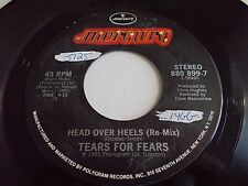Tears For Fears Head Over Heels / When In Love With A Blind Man 45 Vinyl Record