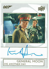 James Bond Collection Autograph Card A-KT Kenneth Tsang as General Moon