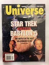 Sci-Fi Universe May 1997 Volume 3 Issue 7 Magazine Star Trek Vs Babylon 5
