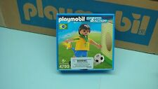 Playmobil 4799 soccer player Brazil NEW for collectors mint in Box rare 144