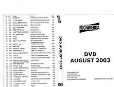 RockAmerica Videopool Aug 2003- ETV DVD