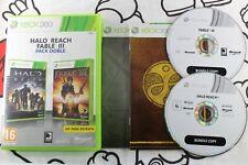 XBOX 360 HALO REACH & FABLE III PACK DOBLE BUNDLE MUY BUEN ESTADO PAL ESPAÑA
