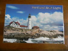 Set of 4 Reversible Placemats PORTLAND HEAD LIGHT - LIGHTHOUSE Maine NEW