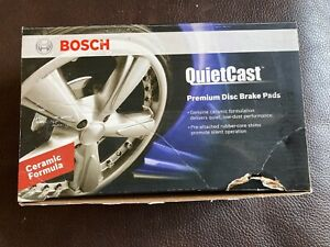 Disc Brake Pad Set-Quietcast Ceramic Pads with Hardware Front Bosch BC699