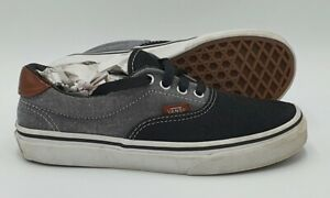 Vans Off The Wall Low Canvas Trainers TB4R Grey/Black UK2/US2/EU33