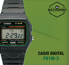 Casio Digital Watch F91W-3D