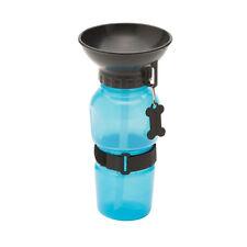 Auto Dog Mug Travel Water Bottle BLUE Puppy AutoDogMug Easy Use BPA Free 20oz
