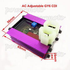 12V Adjustable Racing AC CDI Fit 50cc 125cc 150cc GY6 Moped Scooter ATV Quad