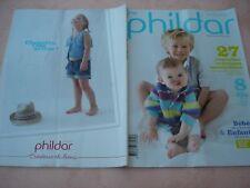LIVRE CATALOGUE Tricot  phildar bébé et enfants N° 89 Printemps / été 2013