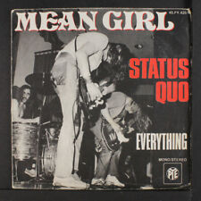 STATUS QUO: Mean Girl / Everything 45 (France, PS, minor corner wear)