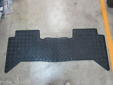 HILUX REAR RUBBER FLOOR MAT DUAL CAB 2/2005 TO 8/2015 **TOYOTA GENUINE PARTS**