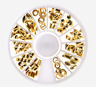 Muticolor Nail Art Tips Decoration 3D Acrylic Glitter Rhinestones DIY Wheel Set#