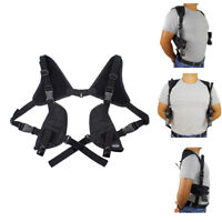 Tactical Concealed Carry Dual Gun Holster Double Draw Shoulder Pistol Holster