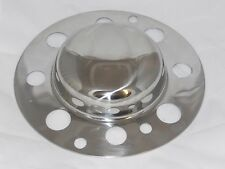 STAINLESS STEEL BLANK FRONT FITS ALCOA STYLE WHEEL RIM CENTER CAP DUALLY 8 LUG