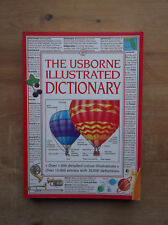 The Usborne Illustrated Dictionary 1994 - Over 1,000 colour illustrations VGC