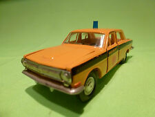MADE IN USSR GAZ VOLGA 24 - RUSSIAN POLICE CAR -  VERY GOOD CONDITION