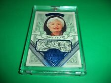 DECISION 2016 SERIES 2 JANET YELLEN BLUE FOIL MONEY CARD MO46