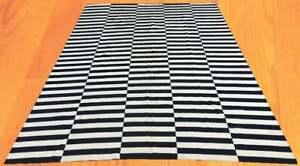 U287.Afghan Chobi Flat Weave Hand Made Work Area Kilim 8 x 11, 340 x 248 cm
