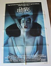DEADLY BLESSING MOVIE POSTER ORIG ONE SHEET WES CRAVEN SHARON STONE