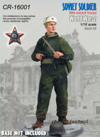 1/16 Soviet Soldier Resin Figure Unpainted Model Kits GK Unassembled