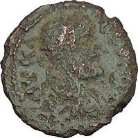 SEPTIMIUS SEVERUS  Nicopolis ad Istrum Ancient Roman Coin Basket of fruit i47923