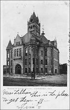 Superior Court House: Hammond, IN. Black & White. Pre-1908.