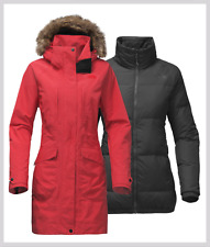 $379 NEW 2017 The North Face Women's OUTER BOROUGHS TRICLIMATE Jacket Medium Red