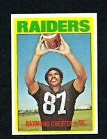 NM 1972 Topps #143 Raymond Chester RC.