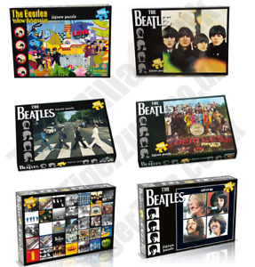 NEW Various Beatles Jigsaw Puzzles (1000 Pieces) Let It Be Sgt Pepper Abbey Road
