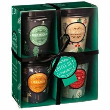 Festive Coffee Collection Boxed Gift Set 4 x 22g