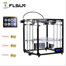 3D Printer LargeCube DIY Kits Heated Bed Touch Screen Free shipping From Germany