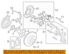 NISSAN OEM 03-09 350Z Brake-Rear-Retainer 440848J01A