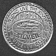 Halifax, NS - Kingfish Silver - 1 oz. Fine Silver Medal - Limited Edition