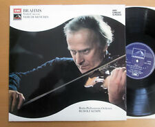 SXLP 30186 Brahms Violin Concerto Yehudi Menuhin Rudolf Kempe EMI Stereo NM/EX