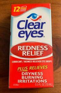 Clear Eyes Gouttes soulagement rougeur et irritation yeux 15ml
