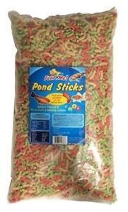 Pond Food Feed Sticks Pellets Feed Me Sticks High Energy All Fishes Koi 200g
