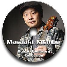 MASAAKI KISHIBE FINGERSTYLE GUITAR TABS TABLATURE SONG SOFTWARE CD