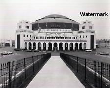 St. Louis Arena / Checkerdome St. Louis  Missouri Black & White 8 X 10 Photo