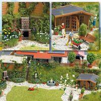 Flower Garden H0 Scale 1:87 Diorama Model BUSCH