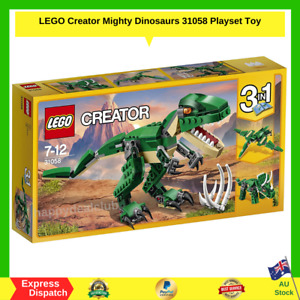 Lego Creator Mighty Dinosaurs 31058 - Kids Toy BRAND NEW - FAST FREE SHIPPING AU