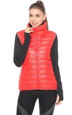 Nike NSW 75% Plumón Relleno Mujer Informal Chaleco Chaleco UNIVERSIDAD Rojo S