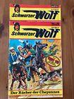 2 STÜCK - SCHWARZER WOLF - Nummer 40 und 57 - BASTEI VERLAG